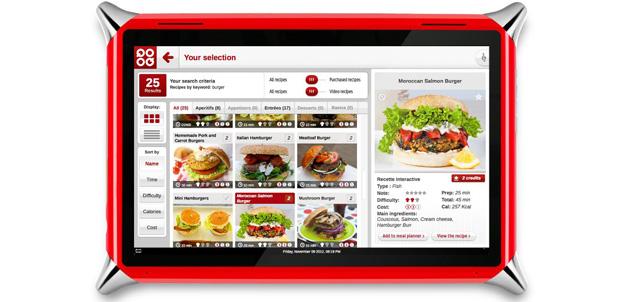 Qooq Tablet, la compañía para tu cocina