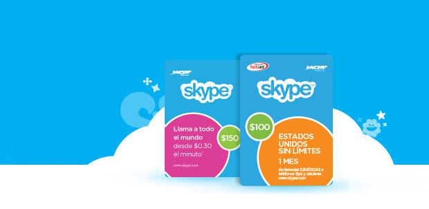 Conoce más sobre Skype Cards en México