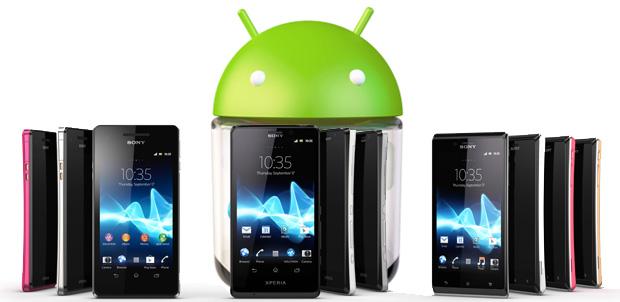 Sony Mobile anuncia Jelly Bean para Xperia