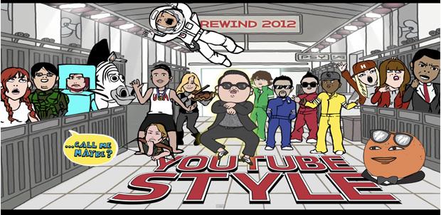 Lo mejor del año dentro de YouTube