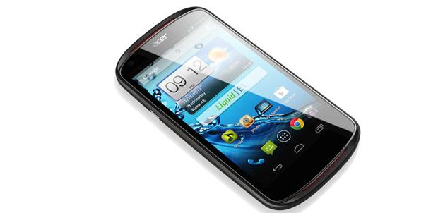Acer presenta su smartphone Liquid E1