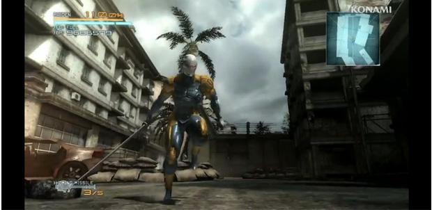 Los trajes disponibles de MGR: Revengeance
