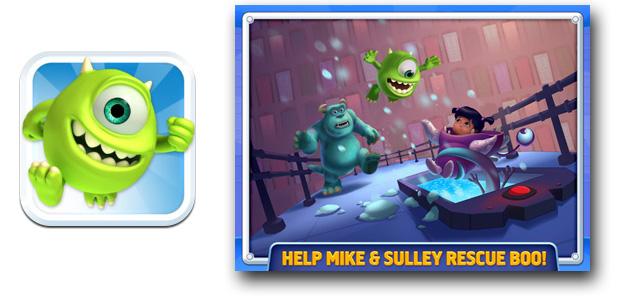 Monsters, Inc. Run para iPhone o iPad