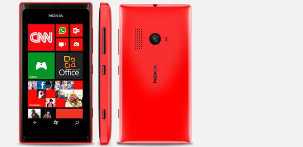 Nokia presenta Lumia 505 para Telcel