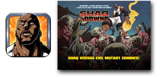 Shaquille O'Nea vs Zombies en iOS