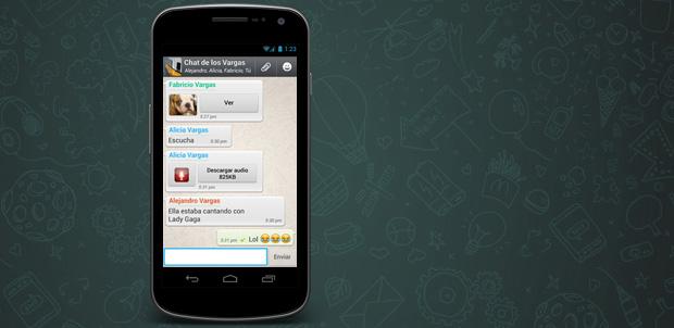 WhatsApp con 18 mil millones de mensajes