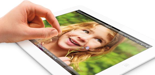 iPad con Retina se incrementa a 128GB