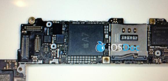 Supuesto chip A7 para iPhone 5S