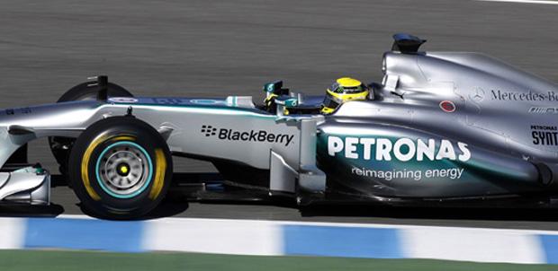 BlackBerry estará en la Fórmula Uno