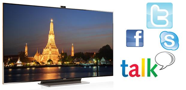 Samsung Smart TV te acerca a las personas