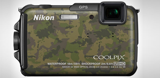 Nikon Coolpix AW110 con GPS y Wi-Fi