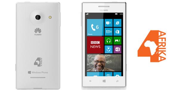 Huawei 4Afrika con Windows Phone 8
