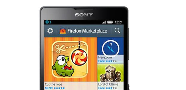 Sony Mobile dará apoyo a Firefox OS