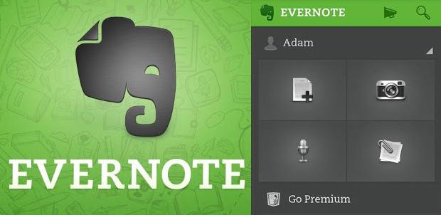 Evernote 5.0 disponible en Google Play