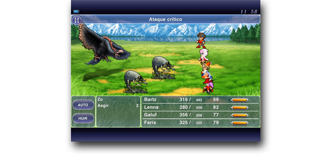 Final Fantasy V disponible para iPhone