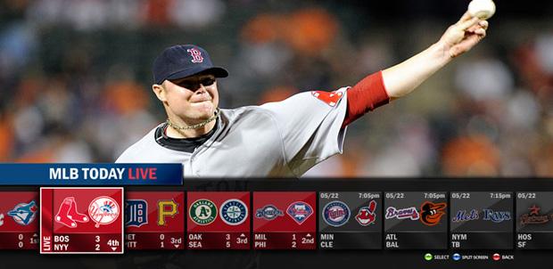 Actualización de MLB.TV para Xbox