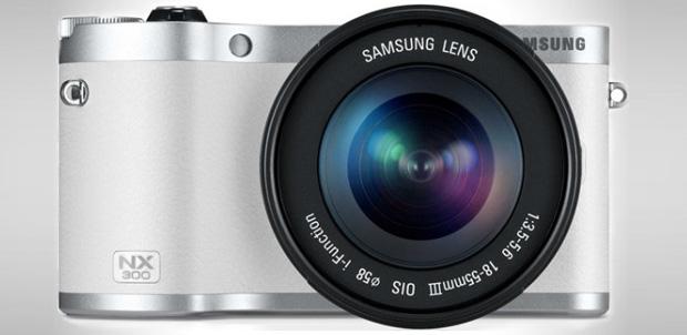 Samsung NX300 con nuevas funciones