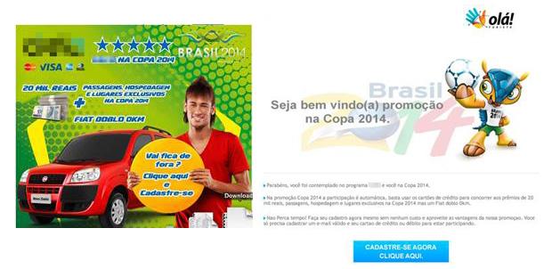 Neymar-phishing