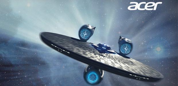 Acer apoyado por Star Trek Into Darkness