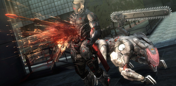 Blade Wolf para MGR: Revengeance