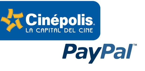 Cinépolis usa PayPal como medio de pago
