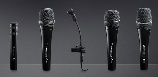 15 años de micrófonos evolution Sennheiser