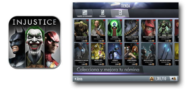Injustice: Gods Among Us en iOS