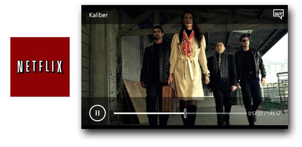 HD llega a Netflix para Windows Phone
