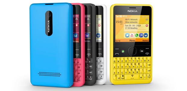 Nokia Asha 210 para Facebook o WhatsApp