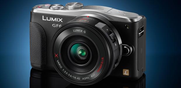 Panasonic Lumix GF6 con NFC y Wi-Fi