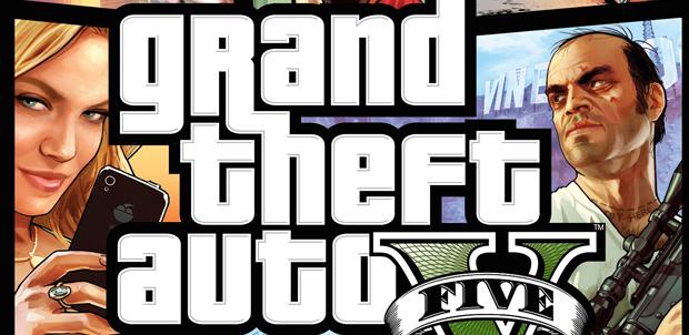 Así es la portada de Grand Theft Auto V