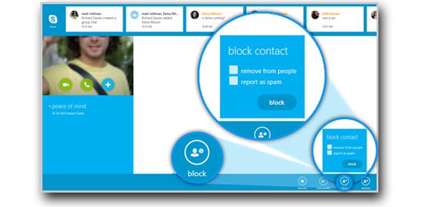 Skype sigue mejorándose en Windows 8