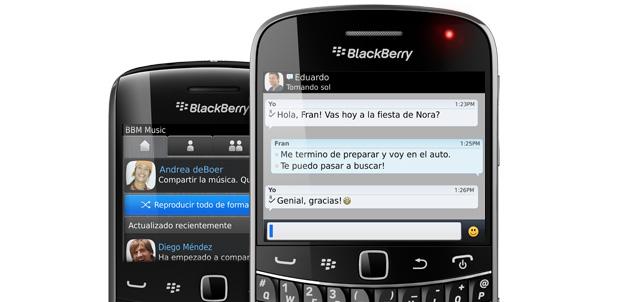 BBM llegará a dispositivos iOS y Android