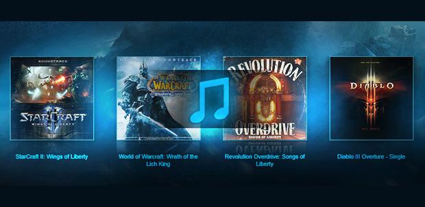 La música de Blizzard ahora en iTunes