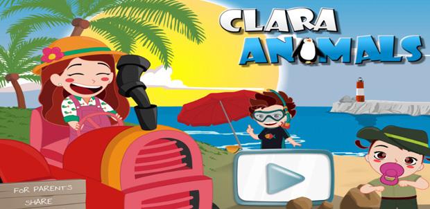 Clara Animals ideal para los niños con iPad