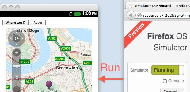 Ya puedes usar el Simulador Firefox OS 3.0