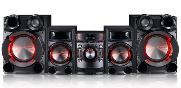 LG CM9530 viene con 23,000 W(PMPO)