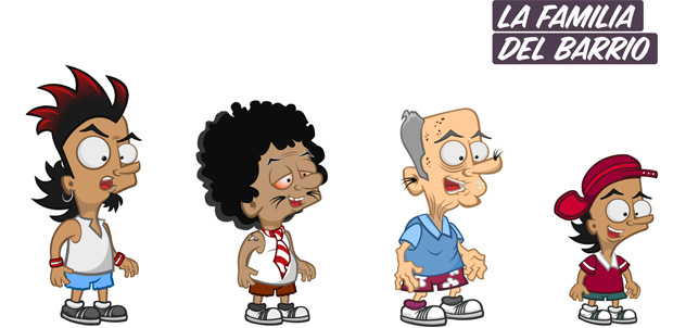 MTV presenta La Familia Del Barrio