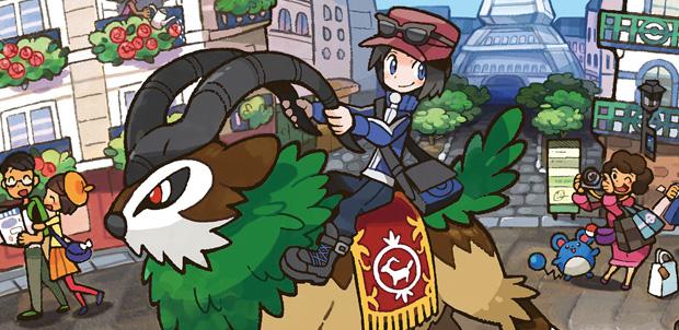 Nuevos personajes inéditos de Pokémon