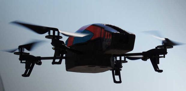 Parrot AR.Drone 2.0 ahora con un GPS