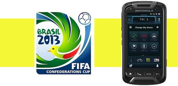 Motorola LTE en la Copa Confederaciones