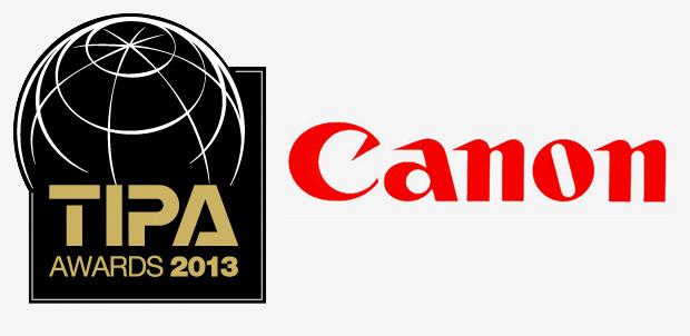 Cinco equipos Canon ganan TIPA 2013