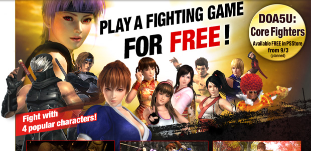 Dead or Alive 5 será un Free-to-Play