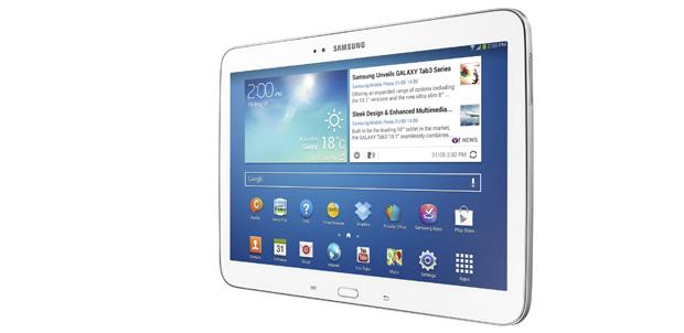 Dos modelos de Samsung Galaxy Tab 3