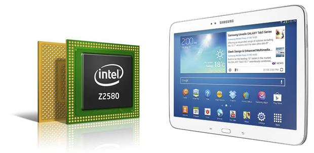 Intel Atom Z2560 en la nueva Galaxy Tab 3