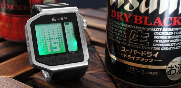 Mide el grado de alcohol con Kisai Intoxicated