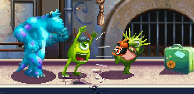 Monsters University de Gameloft para Java