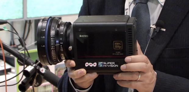 NHK comenzará a grabar en 8K Ultra HD