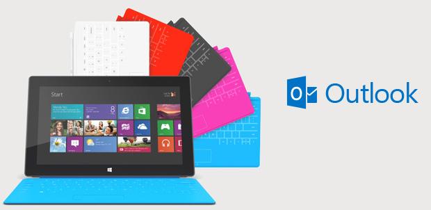 Outlook ahora es parte de Surface RT