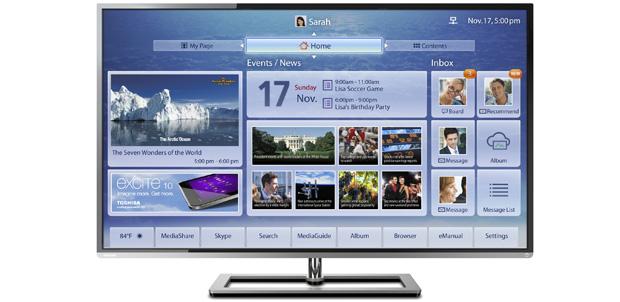 Toshiba presenta en México Cloud TV